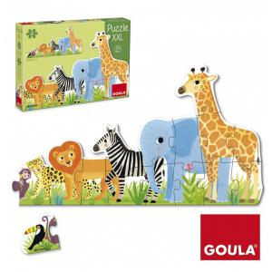 Goula - 53426 - Puzzle XXL jungle du plus petit au plus grand (351590)
