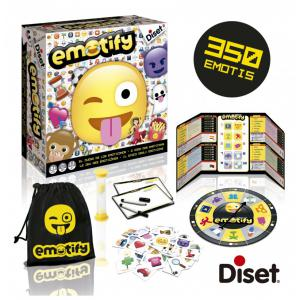 Diset - 62301 - Emotify: le jeu des emoticones (351612)