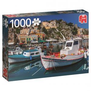 Goula - 18543 - Puzzle 1000 pièces - Symi, Greece (351672)