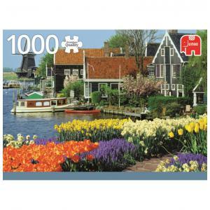 Goula - 618336 - Puzzle 1000 pièces - Zaanse Schans, The Netherlands (351690)