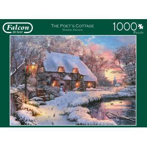 Jumbo - 611133 - Puzzle 1000 pièces FALCON - The Poets Cottage (351926)
