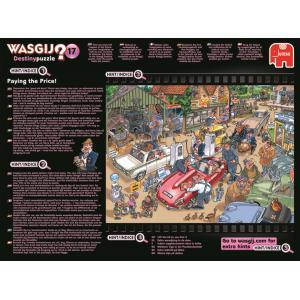 Jumbo - 19141 - Puzzle 1000 pièces - Wasgij Destiny 17 Visite en grande pompe ! (352006)