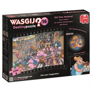 Jumbo - 19125 - Puzzle 1000 pièces - Wasgij Destiny 16 Les rockeurs préhistoriques ! (352008)