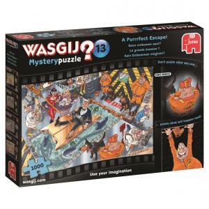 Jumbo - 19143 - Puzzle 1000 pièces - Wasgij Mystery 13 La grande évasion ! (352014)
