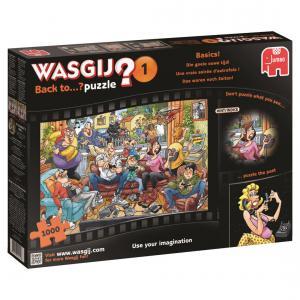 Jumbo - 619111 - Puzzle 1000 pièces - Wasgij Back to Une vraie soirée dautrefois ! (352028)