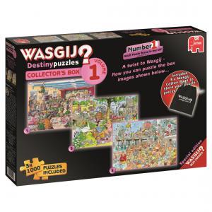 Jumbo - 619124 - Puzzle 3x1000 pièces - Wasgij Destiny Collectors Box (352030)