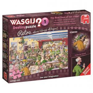 Jumbo - 619144 - Puzzle 1000 pièces - Wasgij Destiny Retro Les plus beaux jours de nos vies ! (352034)