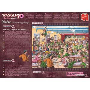 Jumbo - 19144 - Puzzle 1000 pièces - Wasgij Destiny Retro Les plus beaux jours de nos vies ! (352034)