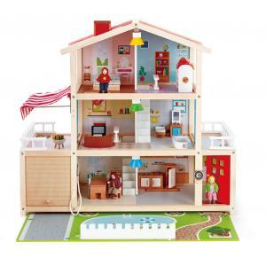 Hape - E3405 - Grande maison de poupées (352684)
