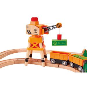 Hape - E3722 - Circuit du train cargo (352746)