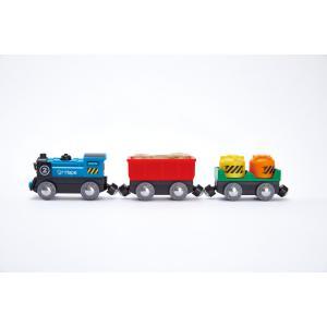 Hape - E3720 - Train de marchandises à piles (352758)