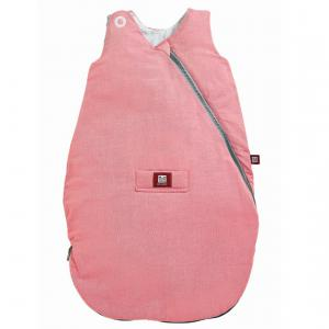 Red Castle  - 0428169 - Gigoteuse Chambray ouatinée rose - Taille 0-6 mois (352946)