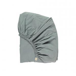 Camomile London - SINGLE-FS-2C - drap housse uni chambray 90x 200 cm (353210)