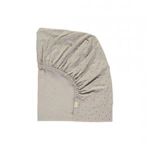 Camomile London - COT-BED-FS-1SG - drap housse gris clair 70x140 cm (353218)