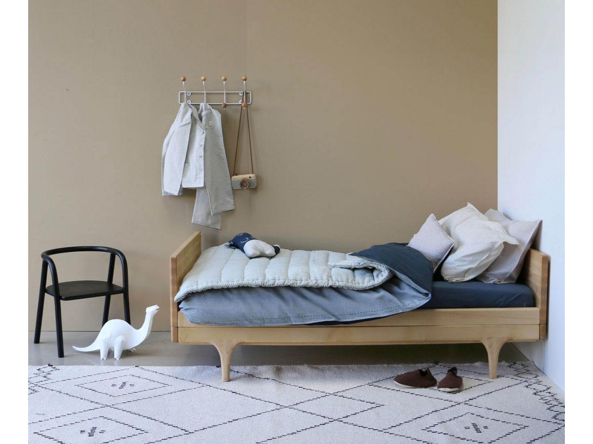 camomile london taie d 39 oreiller gris clair 60 x 40 cm. Black Bedroom Furniture Sets. Home Design Ideas