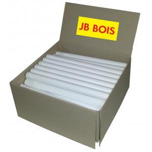JB Bois - AACAT28 - Lot de 10 bobines de papier blanc (353314)