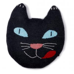 Oeuf NYC  - G10616169999 - Coussin Chat noir (353316)