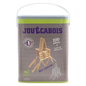 Jouecabois - 760006 - Jeu de construction Jouécabois 200 pièces (353448)