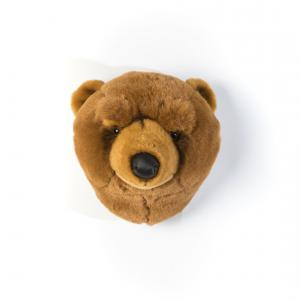 Wild and Soft - WS0021 - Trophée en peluche Olivier l'ours brun (353522)