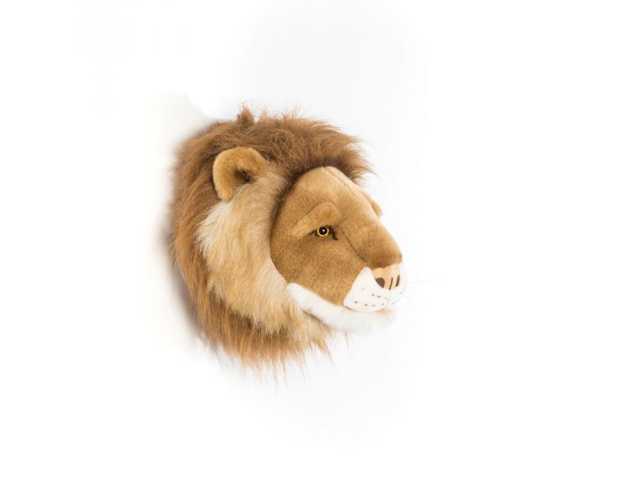 wild and soft troph e en peluche cesar le petit lion. Black Bedroom Furniture Sets. Home Design Ideas