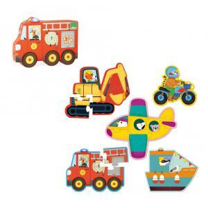 Vilac - 2631 - Puzzles des tout petits Transports (353714)