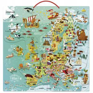 Vilac - 2727 - Carte d'Europe magnétique (353724)