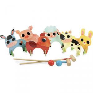 Vilac - 4004 - Croquet des animaux de la ferme (353752)