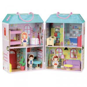 Vilac - 6314 - Maison de poupée en valise (353780)
