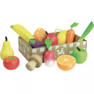 Vilac - 8103 - Jour de marché Set de fruits et légumes - à partir de 2+ (353902)