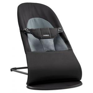Babybjorn - 005022 - Transat Balance Soft Noir-Gris foncé, Coton (354058)