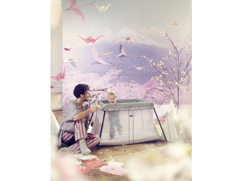 babybjorn lit parapluie light argent. Black Bedroom Furniture Sets. Home Design Ideas