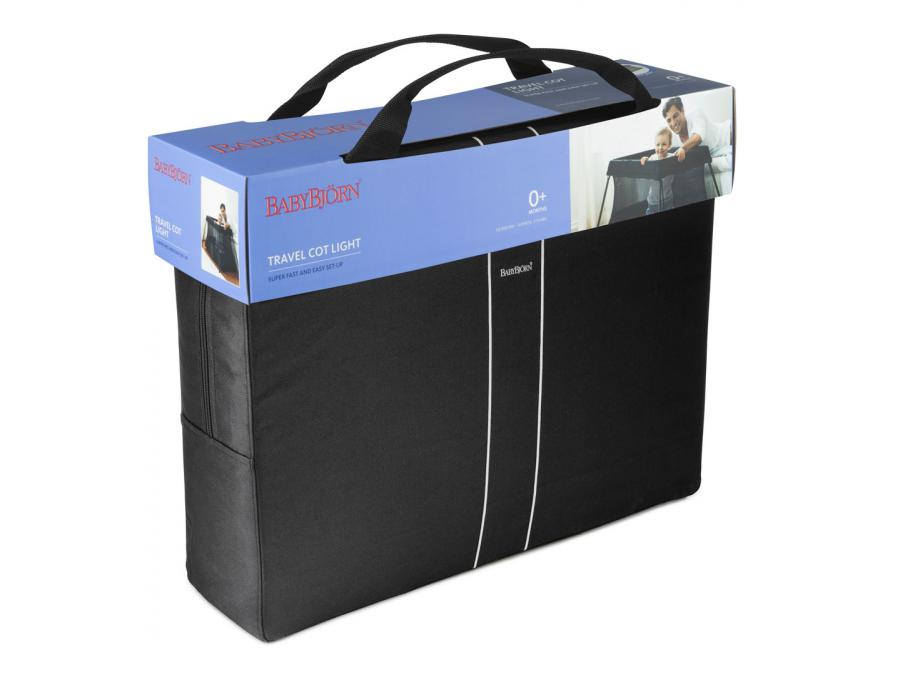 babybjorn lit parapluie light noir. Black Bedroom Furniture Sets. Home Design Ideas