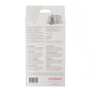 Babybjorn - 043035 - Drap-housse pour le Lit Parapluie Blanc pur, organic (354160)