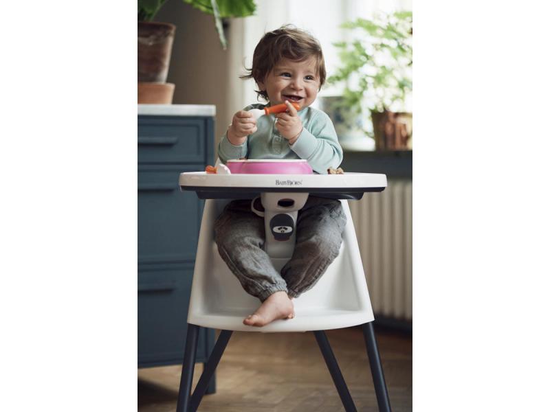 Babybjorn chaise haute babybj rn blanc for Chaise haute babybjorn