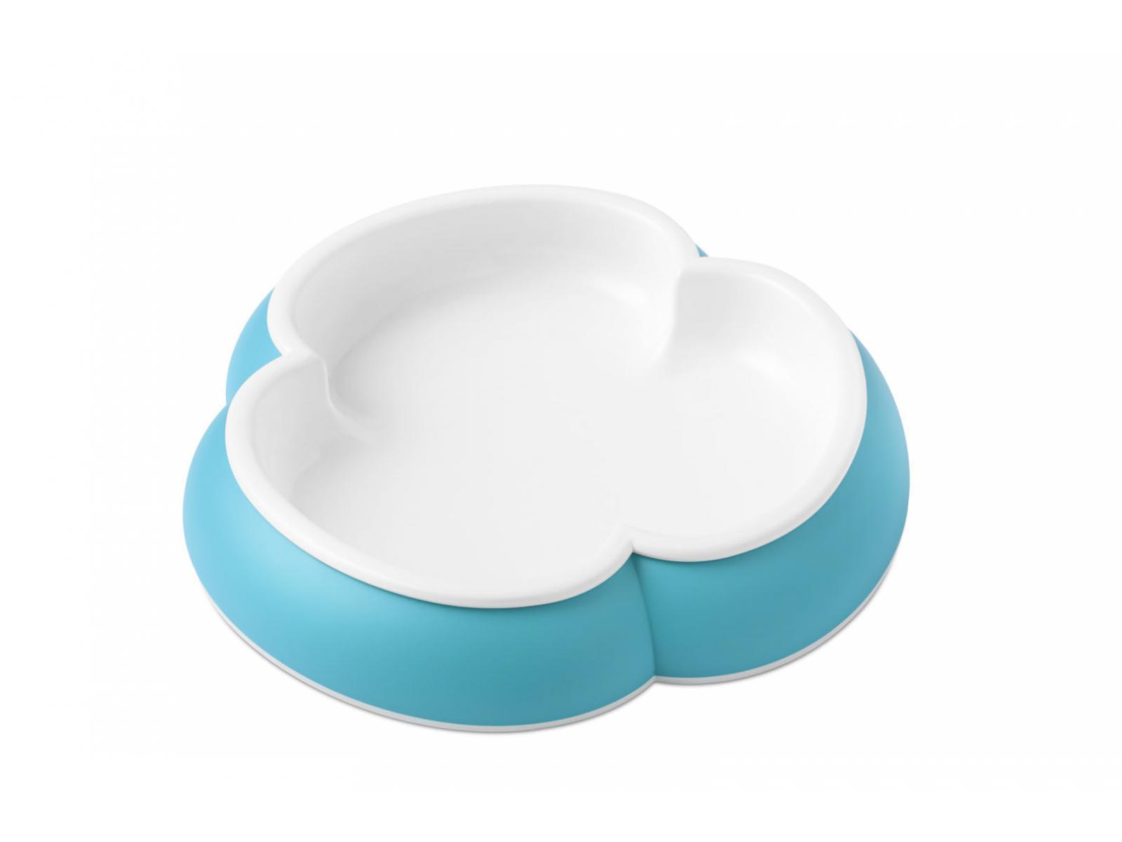 babybjorn assiette cuill re et fourchette pour b b lot de 2 orange turquoise. Black Bedroom Furniture Sets. Home Design Ideas