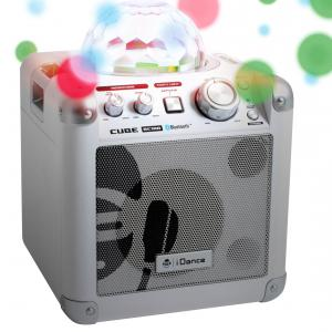 I Dance - 680025 - I-dance karaoke cube bc100 blanc (354636)