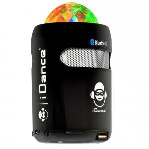 I Dance - 680066 - I-dance sb1 blanc ou noir boom box portable sans fil bluetooth et port usb, charge par le cable usb, 70dx70lx120hmm (354646)