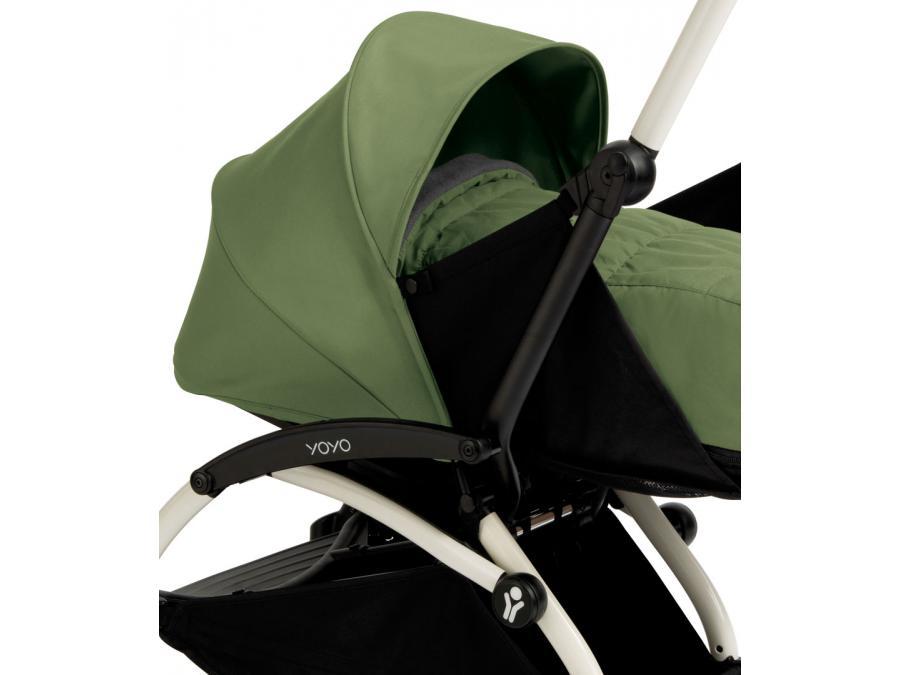 nouvelle poussette babyzen yoyo plus cadre blanc pack naissance peppermint. Black Bedroom Furniture Sets. Home Design Ideas