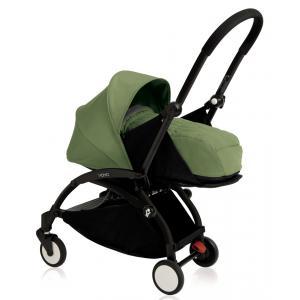 Babyzen - BU079 - Nouvelle poussette Babyzen Yoyo plus cadre noir pack naissance peppermint (354726)