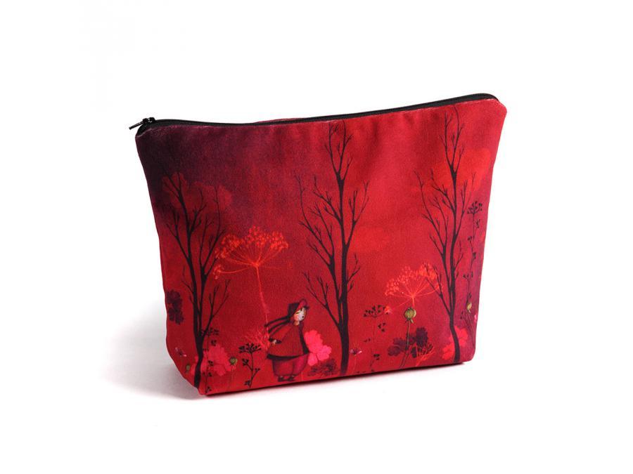 atelier de no mi trousse de voyage nomade rouge 32 x 24 cm. Black Bedroom Furniture Sets. Home Design Ideas