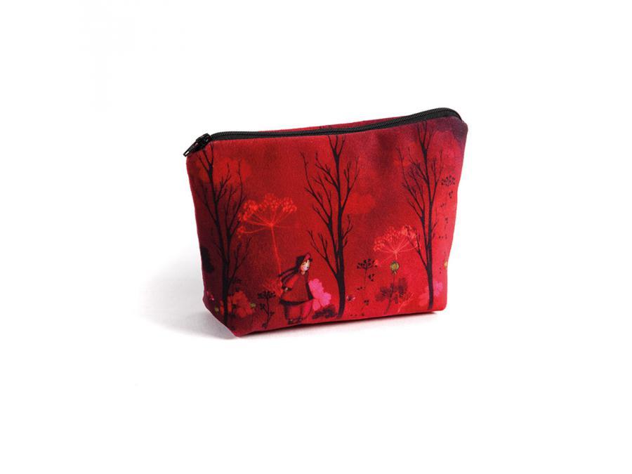 atelier de no mi trousse maquillage nomade rouge 20 x 25 cm. Black Bedroom Furniture Sets. Home Design Ideas