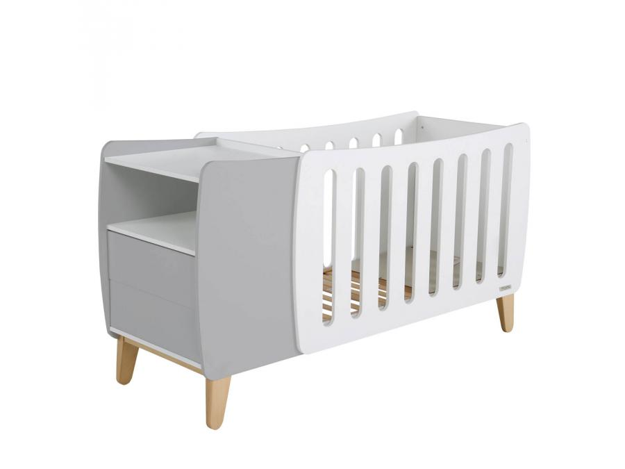 micuna lit de b b volutif 120 x 60 avec relax system. Black Bedroom Furniture Sets. Home Design Ideas