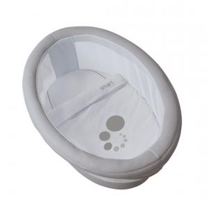 Micuna - BU07 - Berceau Smart naturel habillage gris (356498)