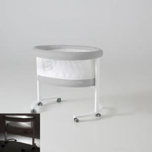 Micuna - BU33 - Berceau Smart avec leds blanc habillage gris (356550)