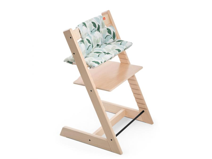stokke coussin vert for t enduit pour chaise tripp trapp. Black Bedroom Furniture Sets. Home Design Ideas