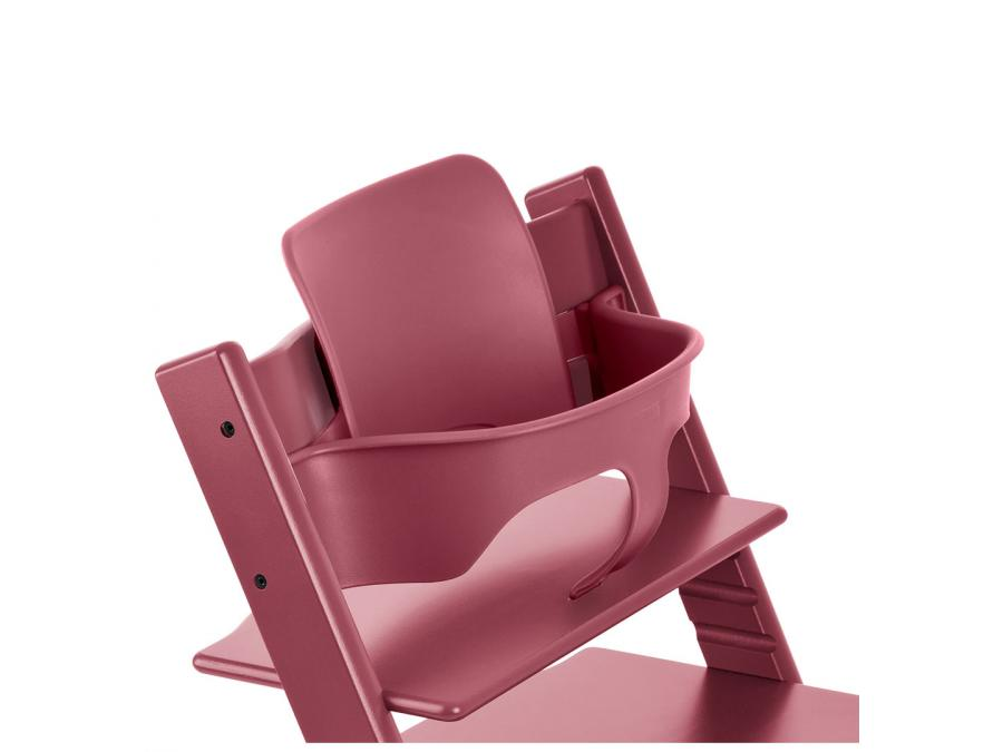 Stokke chaise haute tripp trapp rose bruy re for Chaise haute stokke