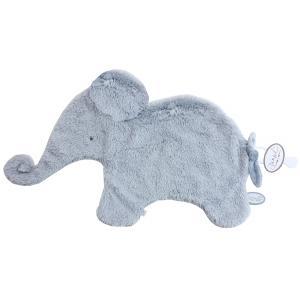 Dimpel - 884143 - Oscar Doudou éléphant attache tétine - 42 x 25 cm - BLEU (356922)