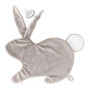 Dimpel - 884442 - Emma Doudou lapin attache tétine - 32 x 25 cm - BEIGE-blanc (356928)