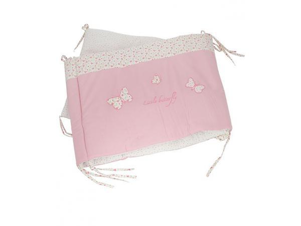 laura ashley tour de lit bella papillon rose. Black Bedroom Furniture Sets. Home Design Ideas