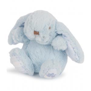 Tartine et Chocolat - 32597-19668 - Peluche Augustin le lapin bleu ciel (358580)